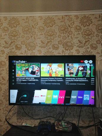 Продам телевизор LG 43 или обмен на 49 4k