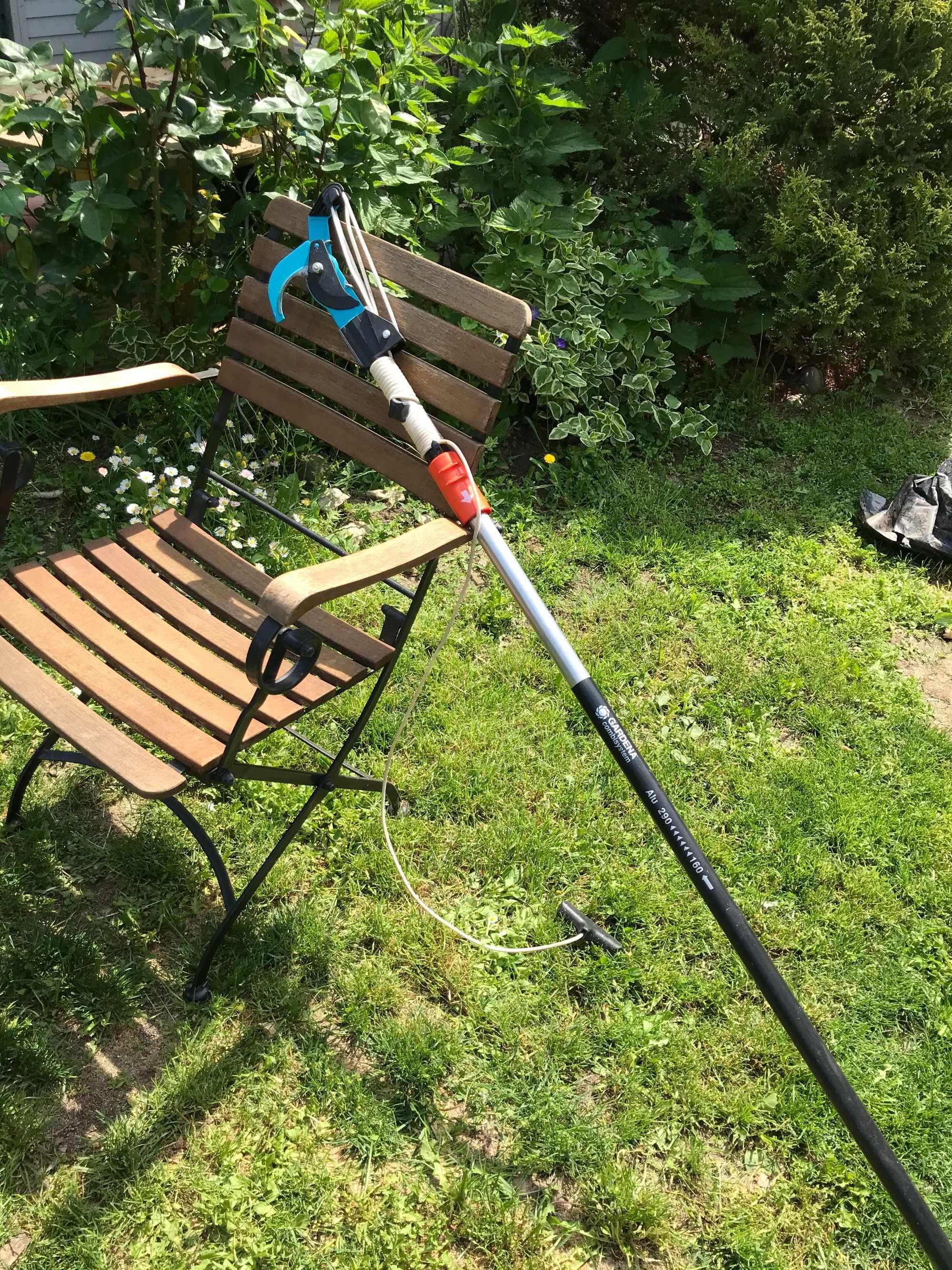 Два тримера за трева на Gardena на ток и батерия Easy Cut 400