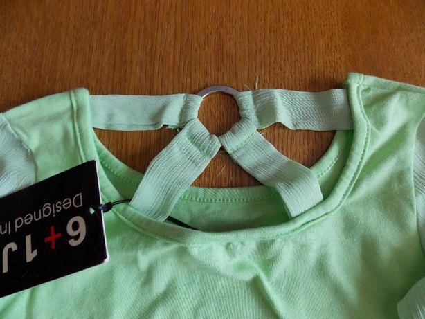 Bluzite vernil noi elegante&chic pentru fetite 6-7 ani (116 si 122)