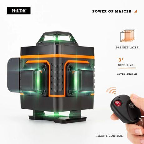 Nivela Laser PROFESIONALA Hilda 16 linii