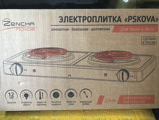 Продам электроплитку Пскова