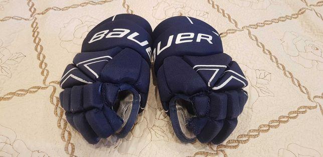 """Перчатки хоккейные детские (краги) Bauer 9"""""""