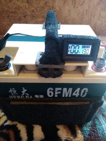 Аккумулятор гелевый 40 А/Ч