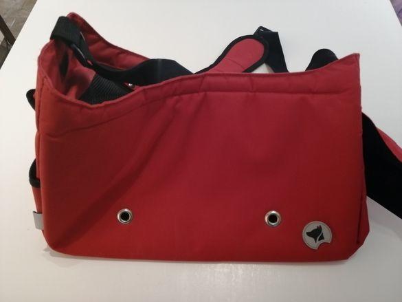 Чанта за малка порода куче
