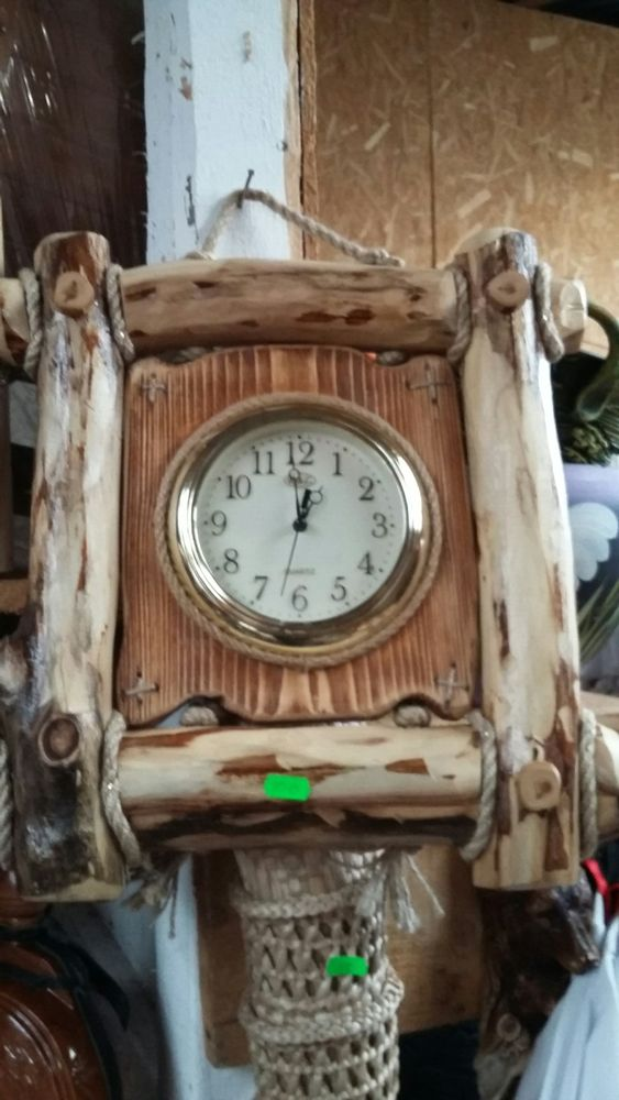 Ceas lemn Horezu - imagine 1