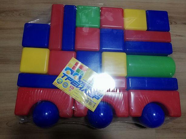 Детские кубики, Трейлер из 25 деталей