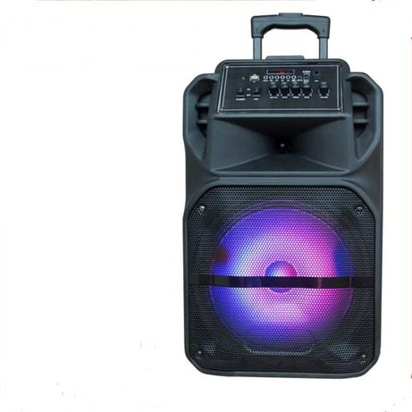 Boxa Portabila tip troler 1722 300W RMS Microfon+telecomanda+FM