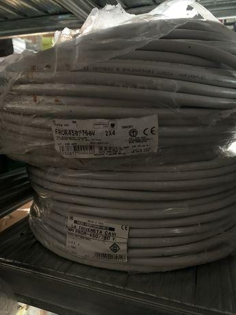 Cablu litat 2/4 și 2/6 rolă de 100m