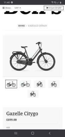 Bicicleta Gazelle