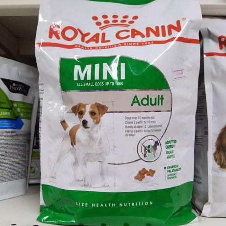 Роял Канин сухой корм для взрослых собак мелких пород
