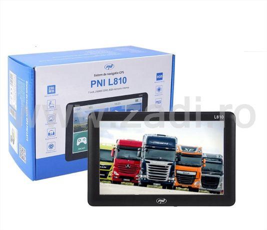 "•Gps 7"" PNI L807/L810• Camion•harti FULL EU•poligoane,firme, soft tir"