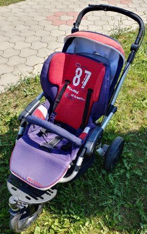 Cărucior bebeluș Jane Slalom Reverse reversibil + landou/scoică Matrix