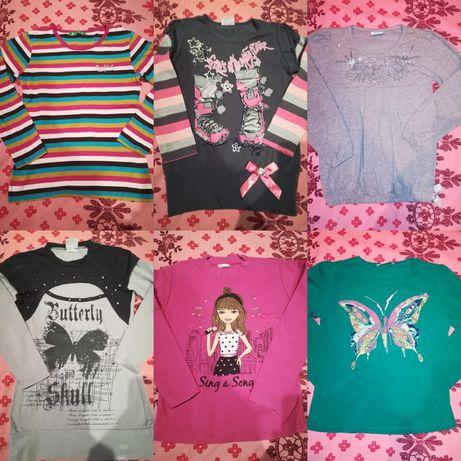 Блузи за момиче - 7 - 8 години, размер 128