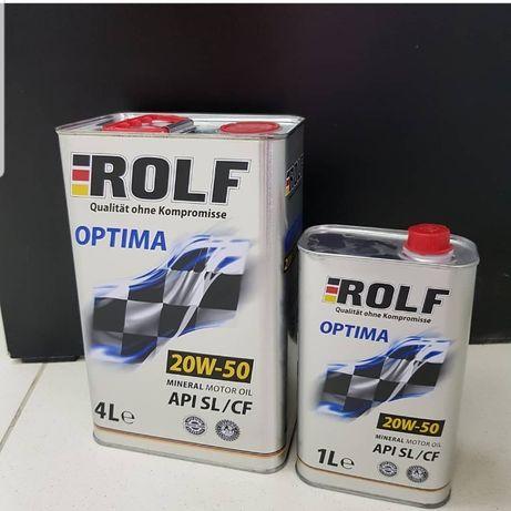 Моторное масло Rolf OPTIMA 20 w 50