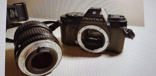 Aparat foto reflex Pentax P30n si accesorii