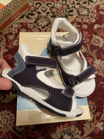 Кожаные ортопедические сандали Турция