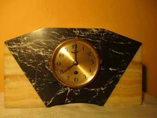 ceas mecanic functional din marmura 35 cm