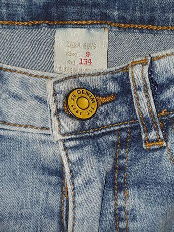 Jeans ZARA baieti 134 cm