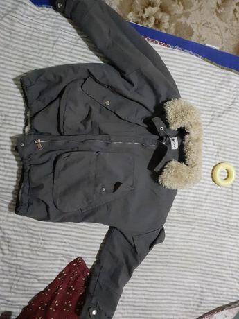 Куртка джинсовой парка