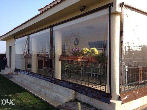Folie transparenta pentru terase / balcoane / foisoare