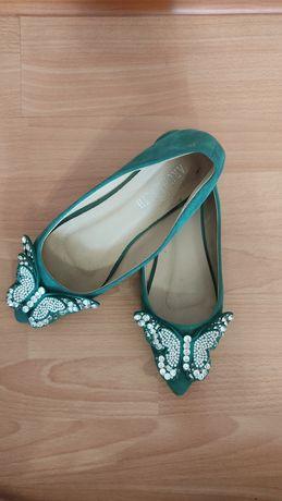 Женская обувь, Красивая, нежная балетка