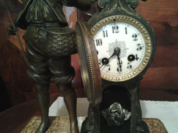 Ceas de simineu sec 19 Franta