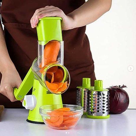 Мультислайсер для овощей и фруктов Tabletop Drum Grater