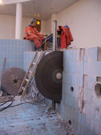 Разрушение бетон Демонтаж Алмазная резка Бурение Компрессор Префаратор