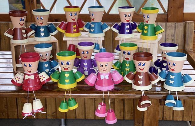Ghiveci personalizat ceramic vesel