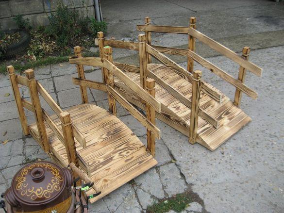 Дървено мостче от производител