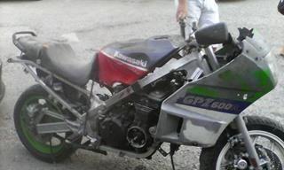 Продава се Kawasaki GPZ600, Само На Части.