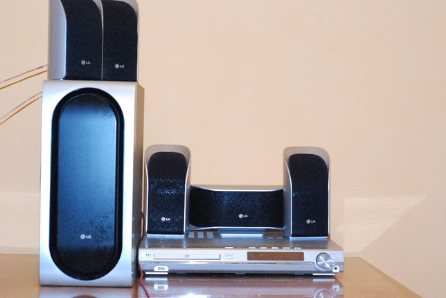 DVD/CD Receiver - LG model LHS-55SBW