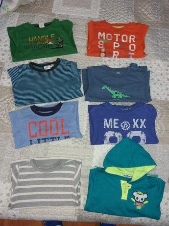 Lor bluze/malete/helanca mar. 86, 92, 98-104