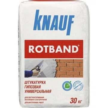 Ротбанд штукатурка, сухие строительные смеси Knauf, гипсокартон Knauf.