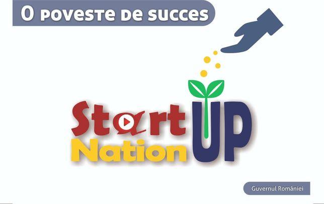 Vand SC cu Start Up Nation echipamente constructii dosar decont depus