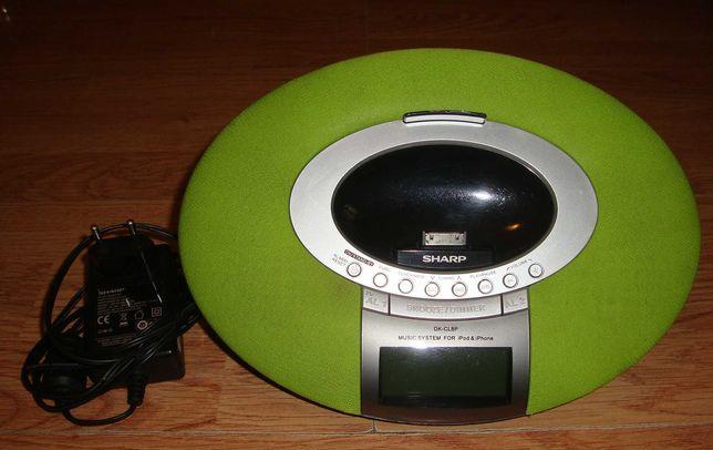 Sharp DK-CL8P Ceas cu Radio Boxa Dock Station Ipod Bonus