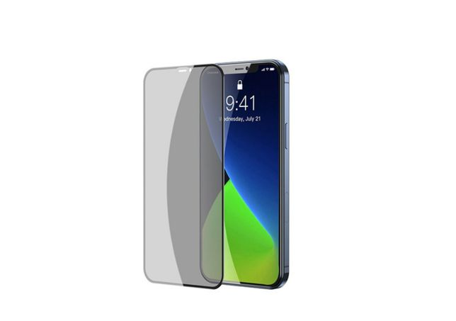 Folie Privacy iPhone 12 Mini, din sticla securizata