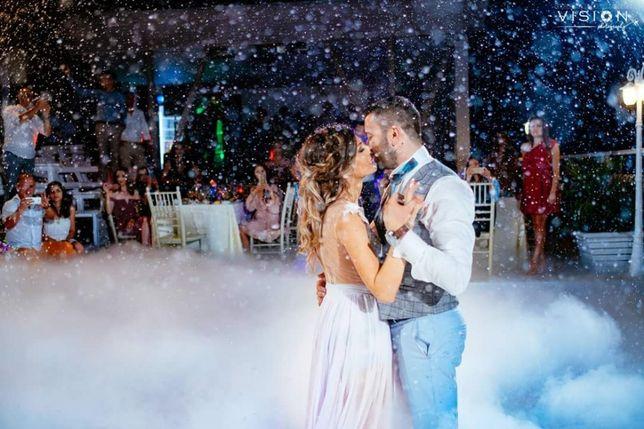 Zapada artificiala nunta/botez/petrecere
