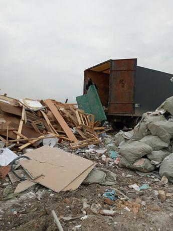 Вывоз мусора всех видов демонтаж зданий домов!