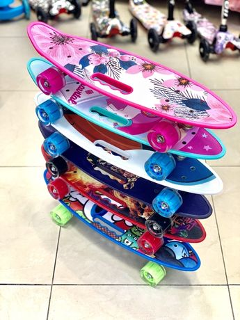 Пениборд - скейтборд светещи LED /Penny board