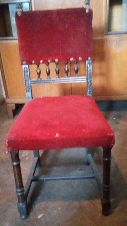 Set scaune lemn masiv (6 buc)