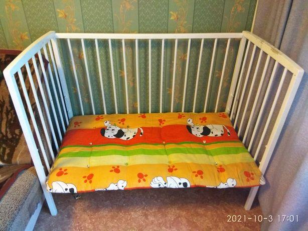 Детская кровать приставная