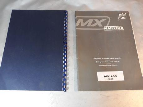 Carte încărcător frontal pt tractor Mailleux MX100 original diagnozã