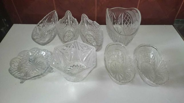 Стеклянные хрустальные посуды