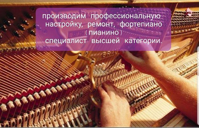 Настройка пианино (так же делаю выезда в деревни и другие города).