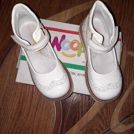 Туфли кожанные 28размер