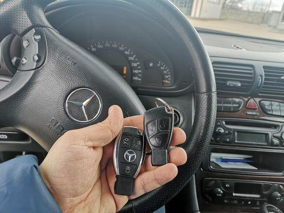 Програмиране Мерцедес ключ/Mercedes - до 2015г. с вкл. нов ключ