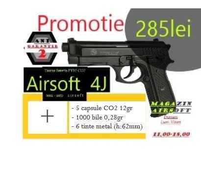 Pistol Taurus Pt92 ABS 4Joules- Pachetul TOAMNEI De Airsoft Nr.4