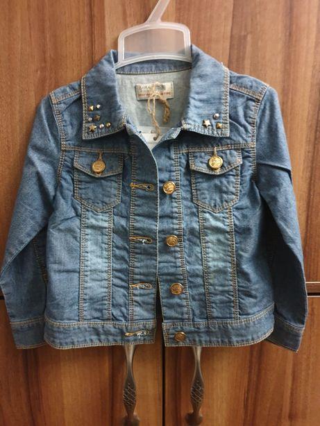 Новая джинсовая куртка ZARA KIDS (Испания) на 3-4-5 лет