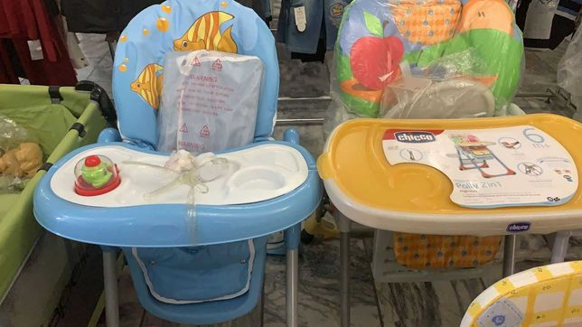 Распродажа!!!Срочно!!!Детские коляски, кроватки, стульчики.
